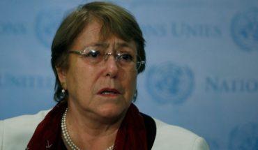 """Bachelet: """"Estoy profundamente preocupada por la criminalización de la protesta pacífica y la disidencia en Venezuela"""""""