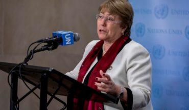 Bachelet denunció abusos y violaciones a los DD.HH. en Venezuela por parte de fuerzas de seguridad y milicias progobierno