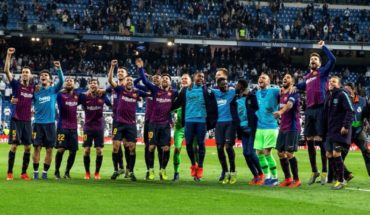 Barcelona won 1-0 to Real Madrd and reversed the history after 87 years