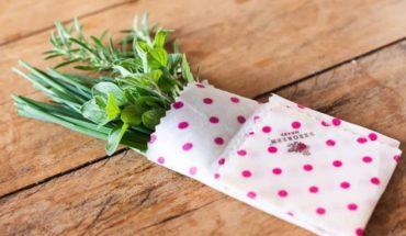 Bee wrap, el envoltorio biodegradable que quiere ganarle al film