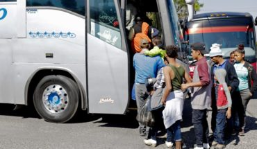 CDMX Government will support of 6 thousand pesos to migrants in Easter