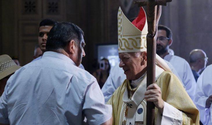 """Cardenal Ezzati asegura que deja Arzobispado de Santiago con """"la conciencia muy tranquila"""""""