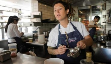 Carolina Bazan, chef of Ambrosia: passionate about cooking and the family