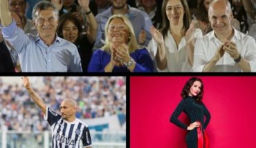 Carrio against the UCR, Cholo Guiñazú let football, Natalia Oreiro surprised an interviewer, and much more...
