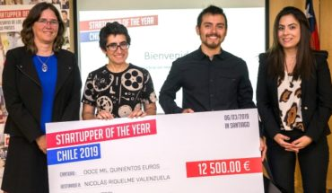 Chilean cyclists app wins mainland competition of Enterprise