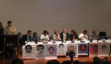 Commission and Government of New Mexico is presented mechanism to investigate case Ayotzinapa