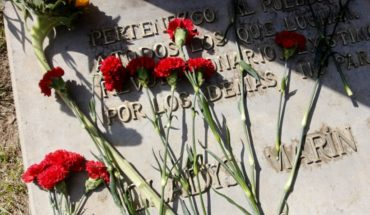 Communist Party paid tribute to Gladys Marín 14 years his death
