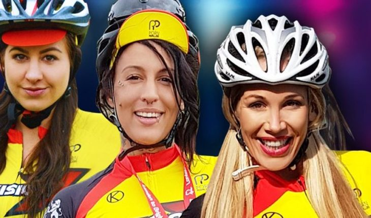 Cyclists of the porn industry club which prohibit roll