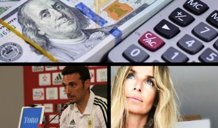 Dólar hoy, recordamos a Rodolfo Walsh, Scaloni confirmó que jugará Messi, Sabrina Rojas, víctima de acoso y mucho más...