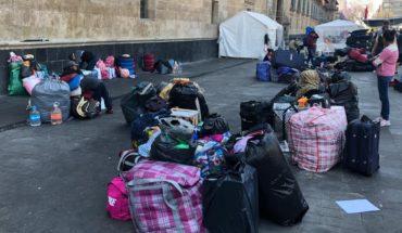 Desplazados de Guerrero dejan CDMX; Segob les promete protección