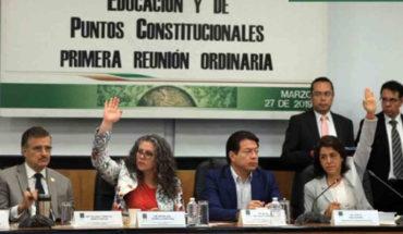 Diputados avalan dictamen sobre Reforma Educativa