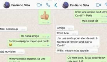 Disseminate recent chats of Emiliano Sala organizing the flight of tragedy
