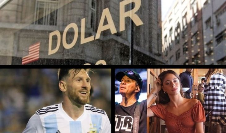 Dollar exceeded the 43, Cristina order rejected, summoned to the selection, Tini next Pablito Lescano and much more...