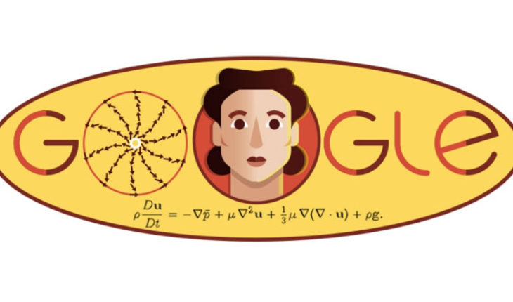 Doodle today, remembers the 97 years of Russian mathematics Olga Ladyzhenskaya