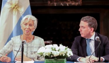 Dujovne and Lagarde met but there is no news on the dollar