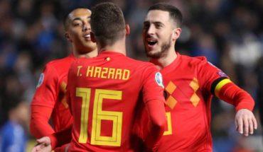 Eden Hazard y Batshuayi dan la victoria a Bélgica sobre Chipre