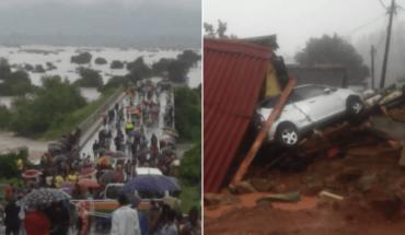 El ciclón Idai deja al menos 31 muertos en Zimbabue