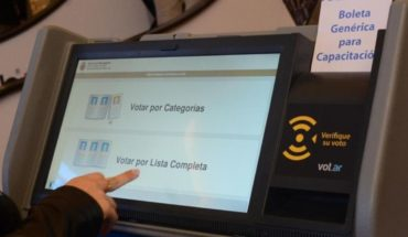 Elections in Neuquén: denounce failures in the system of electronic voting