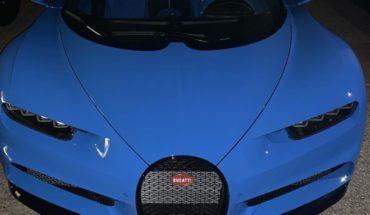 Esta es la velocidad máxima del Bugatti Chiron, el nuevo auto del Canelo Álvarez