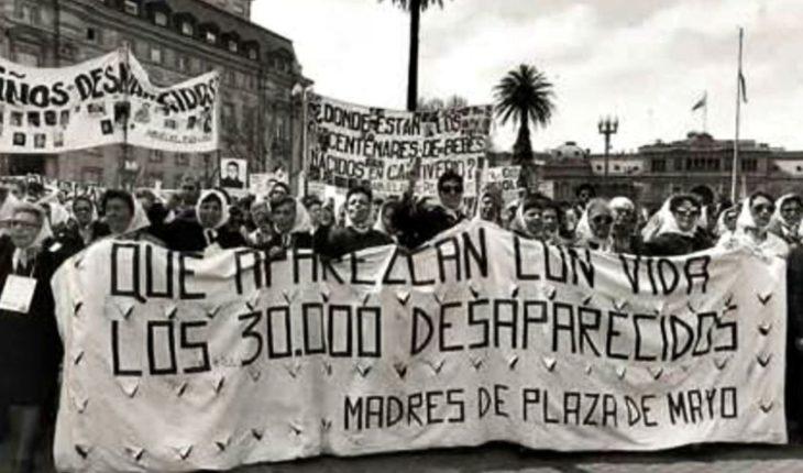 Estas son las marchas a 43 años de la última dictadura militar