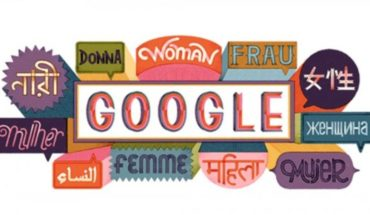 Google celebrates the international women's day with doodle today