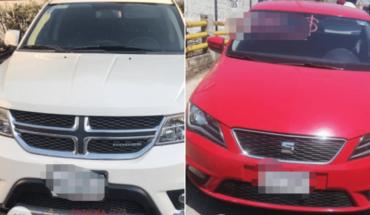 Hallan vehículos robados de la CDMX y Edomex en Morelos