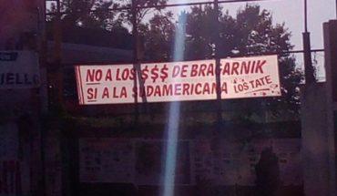 Hinchas de Unión contra Bragarnik: pasacalles y un pedido a los jugadores