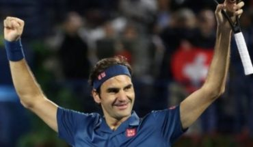 History: Roger Federer wins at Tsitsipas at the end of Dubai and is scoring the 100th of his career