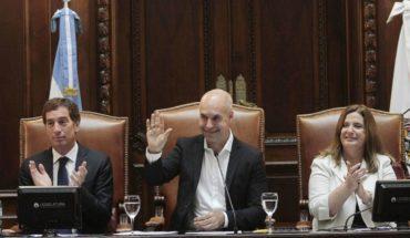 Horacio Rodríguez Larreta opened the regular sessions of the legislature