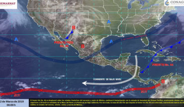 Hoy se prevén tormentas fuertes en Puebla, Veracruz, Oaxaca y Chiapas