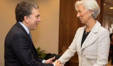 IMF: Dujovne meets Christine Lagarde