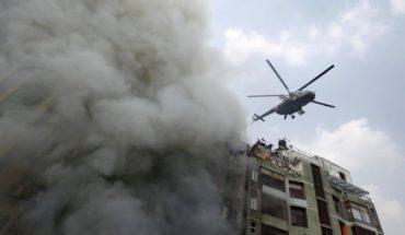 Incendio en Bangladesh deja 25 muertos y unos 70 heridos