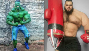 """It could be a battle in the ring, between Brazilian """"Hulk"""" v.s. """"Hulk"""" Iranian"""