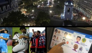 It was the massive March by 8 M, triple tie in the descent, elections in Neuquén, and much more...