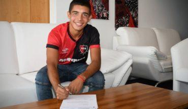 Juan Sforza, la promesa Sub 17 que es representado por el hermano de Messi
