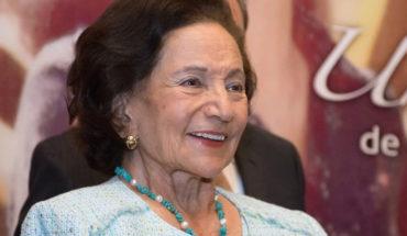 La senadora de Morena Ifigenia Martínez ríe por carta de AMLO al rey de España (Video)