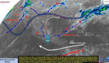 Lluvias en el sureste y noroeste del país