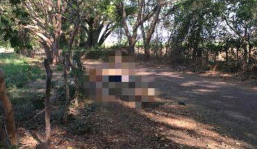 Localizan cadáver con huellas de violencia en camino de terracería en Apatzingán