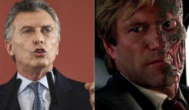 Macri vio la misma película que Piñera y Trump: cita a personaje de Batman para hablar de la situación del país