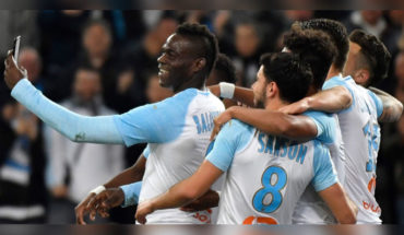 Mario Balotelli scores goal of scissors and transmits the celebration by Instagram Mario Balotelli scores goal of scissors and transmits the celebration by Instagram
