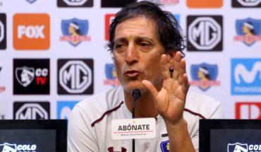 """Mario Salas: """"Esteban está a disposición nuestra. Puede ir citado y jugar"""""""
