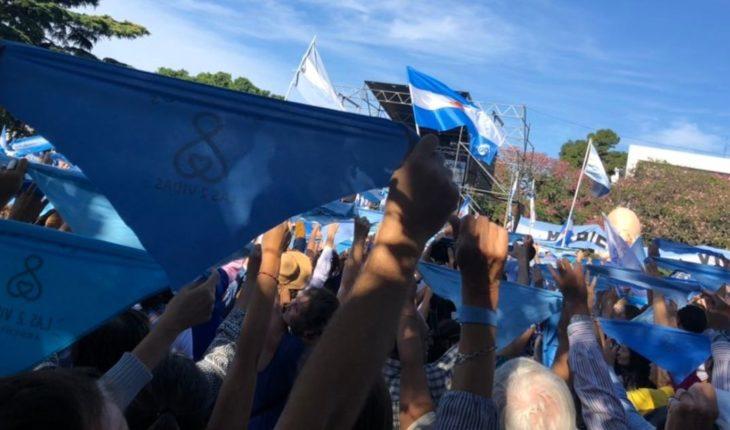Masivas marchas Provida en todo el país en contra del aborto legal