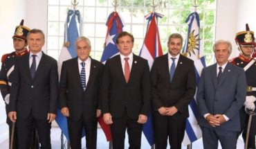Mundial 2030: Macri recibió a los presidentes de Chile, Uruguay, Paraguay
