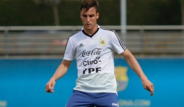 """Nicolás Tagliafico: """"Estaba seguro que Messi iba a volver"""""""