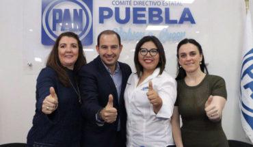 """""""PAN refrendará su triunfo en Puebla"""", confía Marko Cortés"""