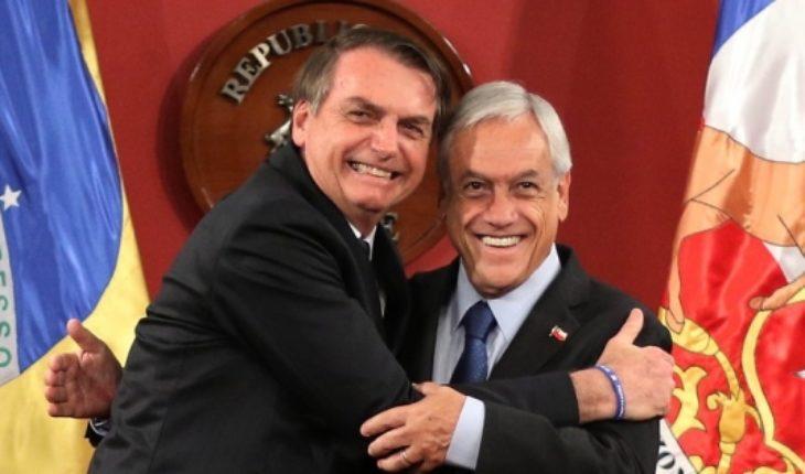 Piñera y Bolsonaro fijan hoja de ruta para impulsar relación Chile-Brasil
