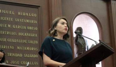 Plantea Yarabí Ávila iniciativa para crear Ley de Juicio Político