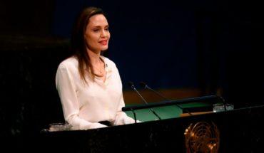 Poderoso mensaje de Angelina Jolie en la ONU, sobre los cascos azules