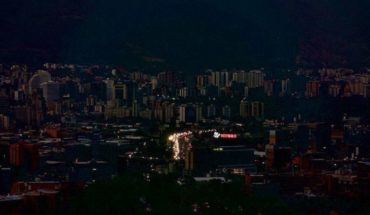 Power outage in almost all Venezuela: 20 of 23 affected States