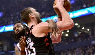 Raptors vence a Knicks pese ausencia de Kawhi Leonard